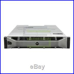 Dell PowerVault MD1400 Storage Array 12x 6TB 7.2K NL SAS 3.5 12G Hard Drives