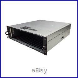 Dell PowerVault MD3000 Storage Array 1x Single Port SAS Controllers M999D 2x PSU