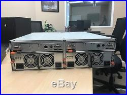 Dell PowerVault MD3000 Storage Array 2x Dual port Controller, 2x PSU, 15BAYS 3.5