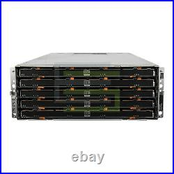 Dell PowerVault MD3060e Storage Array 60x 1.92TB SAS 2.5 12G SSDs