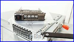 Dell PowerVault MD3200 3.5 12-Bay SAS Storage Array with 2x N98MP 4Port SAS Ctlrs