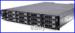 Dell PowerVault MD3200 SAN Storage with 24TB(12 x 2TB) 6Gb/s NL SAS 7.2K 3.5 HDDs
