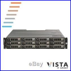 Dell PowerVault MD3200 Storage Array with 2x EMMS + 2x 600W Power Supplies