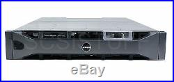 Dell PowerVault MD3200i 12 x 4 tb ISCSI storage network array dual controllers4
