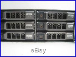 Dell PowerVault MD3200i 2x E02M MD32 Series Controllers Storage Array