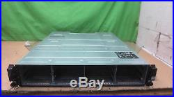 Dell PowerVault MD3200i Storage Array (2x Controlle E02M002) (2x 600W PSU)