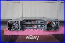 Dell PowerVault MD3200i Storage Array 2x Controller 770D8 & 2x 600W PSU
