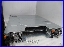 Dell PowerVault MD3200i Storage Array with 2x 600W PSU No Controller Card +