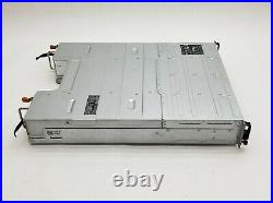 Dell PowerVault MD3200i iSCSI SAN Storage Array No Controllers 2 GV5NH 600W PSU