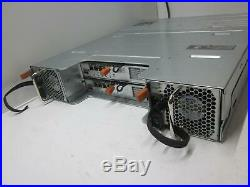 Dell PowerVault MD3200i iSCSI Storage Array with 2x 770D8 Controllers + 2x PSU^