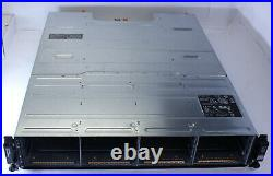Dell PowerVault MD3200i iSCSI Storage with 2x770D8 Controller 2x600W PSU No HDD