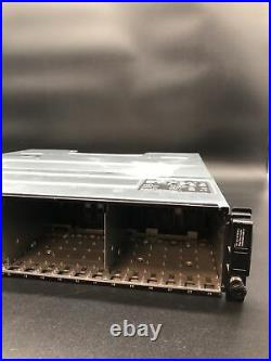 Dell PowerVault MD3220 24 Slot 2.5 iSCSI Storage Array Chassis + 2 x PSU