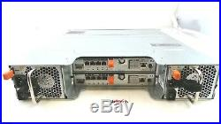 Dell PowerVault MD3220 25 x 2.5 Storage System SAS 600GB 15K HDD Tested