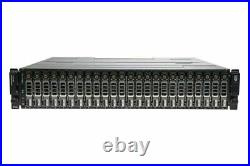 Dell PowerVault MD3220 SAN Storage Array 24x 2.5 Bay Dual 6G SAS Controlle