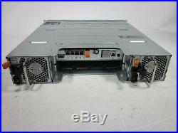 Dell PowerVault MD3220i 24 Bay iSCSI Storage Array 1x VFX1G Controller NO HDD