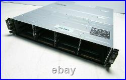 Dell PowerVault MD3600i 12x 3.5 2x PSU Includes iSCSI Storage Controller M6WPW