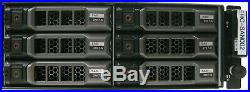 Dell PowerVault MD3600i Storage Array, 12x 2TB HDD No Controllers