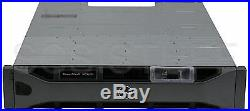Dell PowerVault MD3620f 24x 300Gb 15K fibre channel storage array