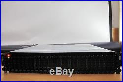 Dell PowerVault MD3620f Fiber Channel SAN Disk Storage Array 2x MD36 Series E02M