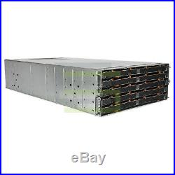 Dell PowerVault MD3860f Storage Array 60x 300GB 15K SAS 3.5 6G Hard Drives