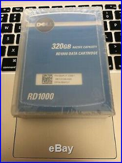 Dell PowerVault RD1000 Internal SATA Storage x Dell RD1000 320GB Data Cartridge