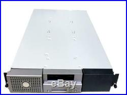 Dell Power Vault 124T Tape Drive Autoloader Rack Based Data Backup Storage MH592