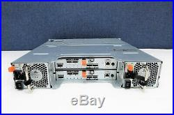 Dell Powervault MD3200 12-Bay SAS LLF Storage Array, 2x N89MP 6G 4PT SAS Contlrs