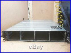 Dell Powervault MD3200i 12 Bay 3.5 Drive SAN Storage Array Chassis 2x PSU