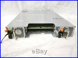Dell Powervault MD3200i 12 Bay 3.5 Drive SAN Storage Array Chassis Dual PS