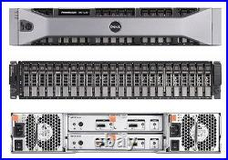NEW Dell PowerVault MD1220 SAS Storage Array Dual EMM Dual PS