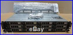NEW Dell PowerVault MD3400 Storage Array 12 x 600GB SAS 2x 12G-SAS-4 Controllers