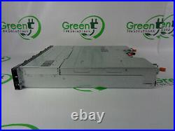 No Bezel Dell Powervault MD1420 24-Bay SFF Storage Array 2x V9K2G Controllers