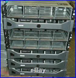 Qty 7 Dell PowerVault MD1200 Raid Controller Storage Array E03J no HDD